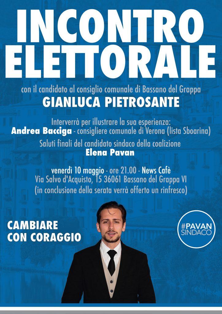 Destra Brenta - associazione culturale - Bassano del Grappa - Erano Italiani - incontro elettorale