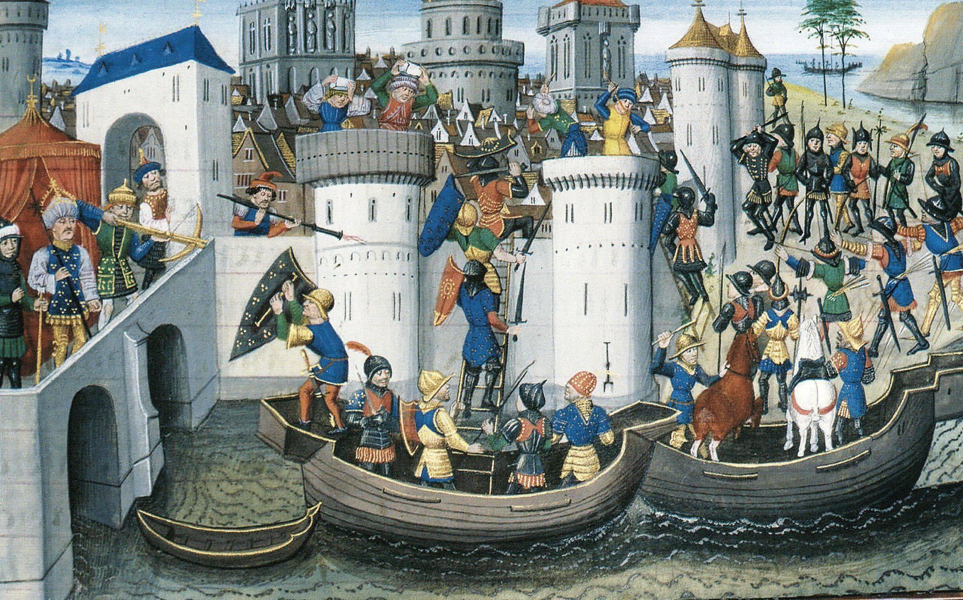 Destra Brenta - associazione culturale - Bassano del Grappa - IV crociata